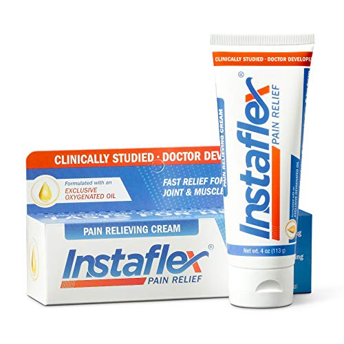 Instaflex Pain Relief Cream Delivers Clinically Studied Pain Relief from Arthritis, Back Pain, Strains and Joint and Muscle Pain (4 oz)