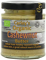 Organic golden roasted cashews milled with cold pressed sunflower oil Incredibly nutritious and delicious Good source of calcium and protein Creamy and delicious cashew butter Good for coeliac or those who follow a gluten free diet