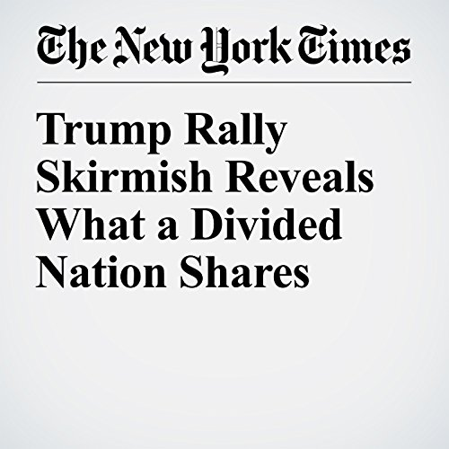 Trump Rally Skirmish Reveals What a Divided Nation Shares audiobook cover art