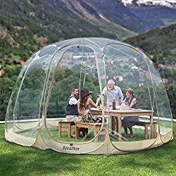 Alvantor Winter Screen House Room Camping Tent Canopy Gazebos - Best Geodesic Dome Kit