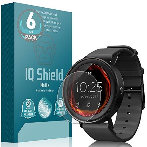 IQ Shield Matte Screen Protector Compatible with Misfit Vapor (6-Pack) Anti-Glare Anti-Bubble Film