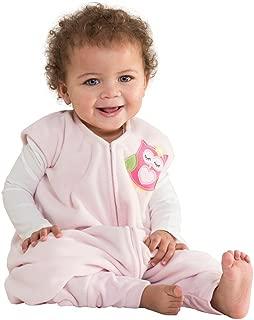 HALO Early Walker Sleepsack Micro Fleece Wearable Blanket, Pink, Medium