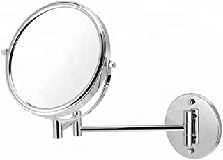 Round Extendable Wall Mounted Shower Mirror- 8inch,10x