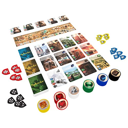 Space Cowboys- Cities of Splendor (Asmodee SCSPEX01): Amazon.es ...