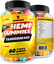 Gummies for Pаin, Аnxiety, Slееp, Strеss Rеlief, High Potency - Calm Gummy Bears with Oil - 100% Natural - Improves Memory, Focus, Attention - Omega 3, 6, 9 & Vitamins B, E