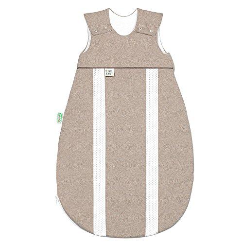 Odenwälder Jersey-Schlafsack primaklima Melange Latte, Größe in cm:70 cm