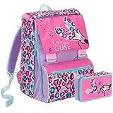 Seven Zaino Scuola estensibile Disney Minnie Jewel + Astuccio 3 Zip pieno schoolpack