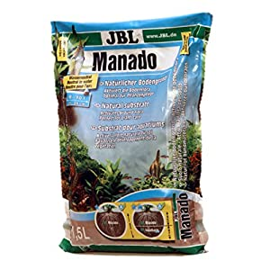 JBL Manado 1,5 l, Natural substrate for freshwater aquariums