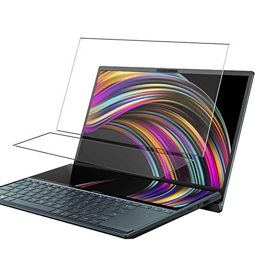 Vaxson 4 Stück Schutzfolie, kompatibel mit ASUS ZenBook Duo UX481 UX481FA 14