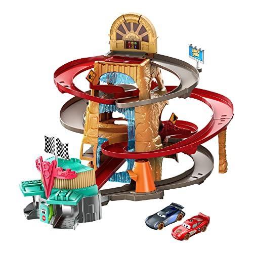 Disney Pixar Cars Radiator Springs Mountain Race Playset