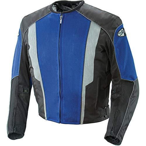 Joe Rocket Phoenix 5.0 Mesh Textile Motorcycle Jacket - Blue/Black