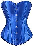 Senchanting Corsets for Women Corset Top Bustier Overbust Lace Up Corset Plus Size