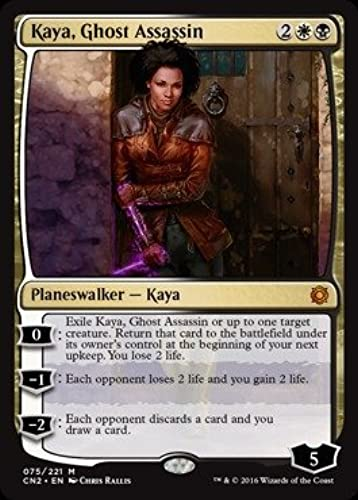 más vendido Magic  the Gathering Gathering Gathering - Kaya, Ghost Assassin (075 221) - Conspiracy 2  Take the Crown by Magic  the Gathering  encuentra tu favorito aquí