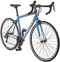 Schwinn Fastback AL Claris Adult Performance Road Bike, Beginner to Intermediate Bicycle Riders, 700c Wheels, 16-Speed Drivetrain, Small Aluminum Frame, Blue
