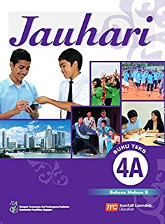 Malay Language 'B' Textbook 4A for Secondary Schools (Jauhari)