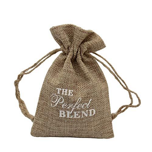 PLUS PO - Bolsas pequeñas con cordón para regalo, bolsas de regalo, bolsas de regalo, bolsas de regalo de caramelo, bolsa de decoración de Navidad, accesorio para árbol de Navidad, 3,5 piezas