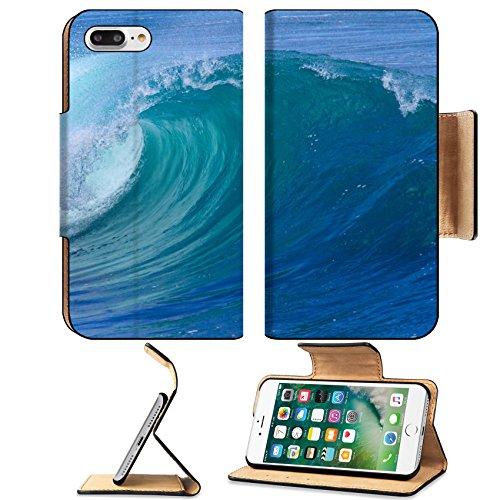 Liili Premium Apple iPhone 7 Plus Flip Pu Leather Wallet Case iPhone7 ID: 27580294 Picture of Ocean Wave Indian Ocean