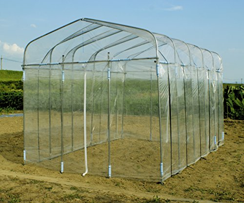 DAIM ダイムハウス 全5規格 替えビニール付きセット ビニールハウス 温室 1坪 2坪 3坪 4坪 5坪 保温や鳥よけ、雨よけ対策に!ミニ菜園ハウス (2坪用)