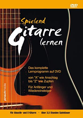 Spielend Gitarre Lernen: Anfänger Gitarrenkurs für Akustik- & E-Gitarre