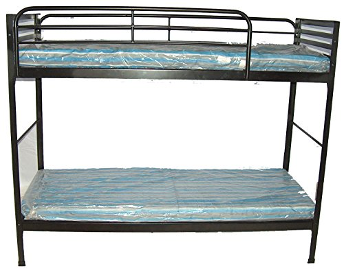 "Hot Sale Blantex Heavy Duty 30"" wide Institutional Bunk Bed with 4"" Foam Mats"