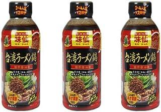 「名古屋名物」味仙 台湾ラーメン鍋の素(濃縮タイプ)×3個セット 監修 郭政良