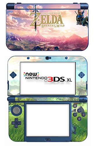 The Legend of Zelda: Breath of the Wild Game Skin for The New Nintendo 3DS XL Console 100% Satisfaction Guarantee!