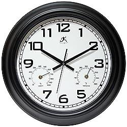 Infinity Instruments Garden 18 Metal Outdoor Clock