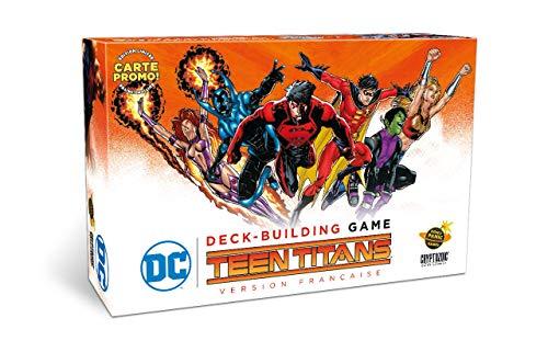 Has jugado con la vieja guarda... Ahora es hora de dejar espacio a la próxima generación de superhéroes. Encarna los roles de RavenTM, Beast BoyTM, Wonder GirlTM, Red RobinTM y más. Las tarjetas permanentes son llamativas en esta extensión. El juego ...