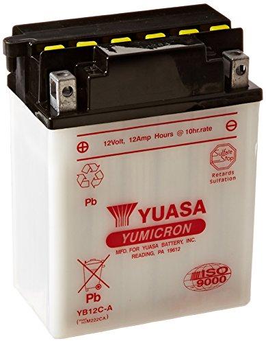 Yuasa YUAM222CA YB12C-A Battery