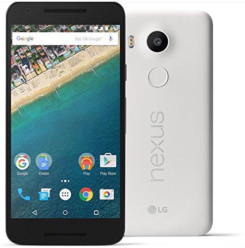 Nexus 5X 32GB Quartz White Factory Unlocked LTE/CDMA/GSM
