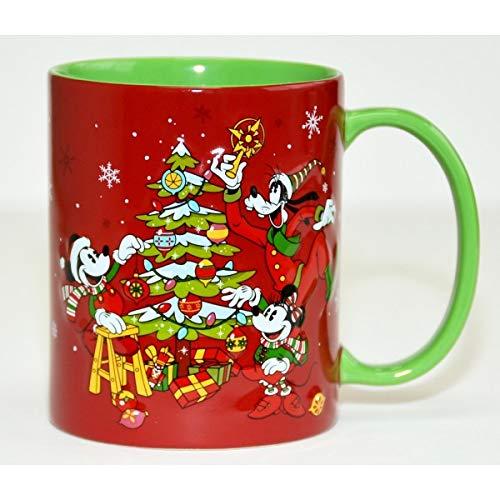 Taza de Navidad con diseño de Mickey y amigos