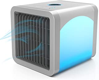 Scinex Personal Air Cooler, Personal Air Conditioner for Office Desk, Small Portable AC Air Conditioner, Mini Air Conditioner Room Cooler with Built-In LED Night Light
