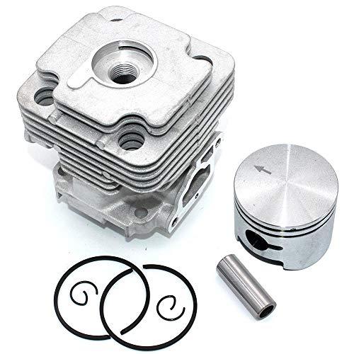 HaoYueDa Kit de pistón de Cilindro de 45 mm para Oleo-Mac 453BP Ergo 753S 753T OS530 Ergo OS550 Ergo Efco 8530IC 8535 8535 Ergo 8550 Boss 8753BAV