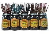 Wildberry Incense Sticks Best Seller Set #1: 4 Sticks Each of 5 Scents, Total 20 Sticks!