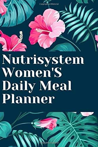 Nutrisystem Women'S Daily Meal Planner: ultimate diabetes meal planner,carrie elle meal planner,my family meal planner,rotation diet meal planner,daily planner with meal planner,fitness meal planner