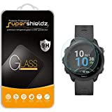 (2 Pack) Supershieldz Designed for Garmin Forerunner 245 and Forerunner 245 Music Tempered Glass Screen Protector, Anti Scratch, Bubble Free