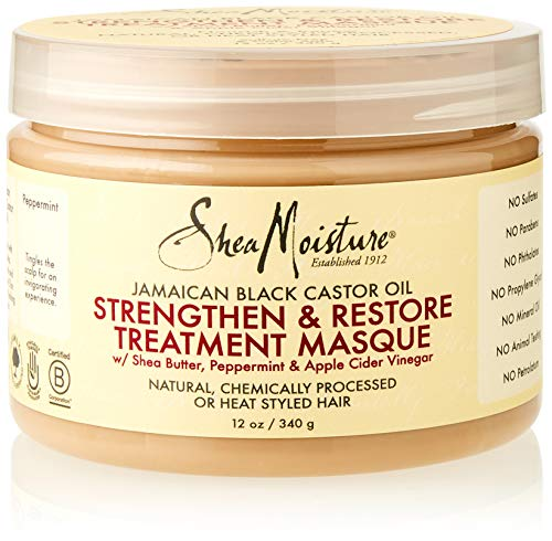 Shea Moisture Jamaican Castor Oil Treatment Masque for Curly Hair