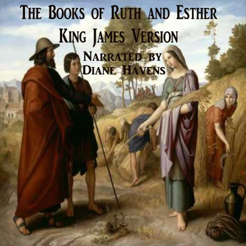 The Books of Ruth and Esther, King James Version audiobook cover art