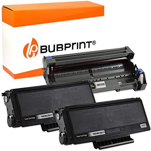 Bubprint 2 Toner und Trommel kompatibel für Brother TN-3170 DR-3100 für DCP-8060 DCP-8065DN HL-5200 HL-5240 HL-5240L HL-5250 HL-5250DN HL-5270 HL-5270DN HL-5280DW MFC-8460N MFC-8860DN MFC-8870DW
