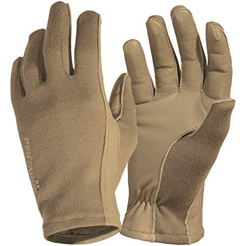 Pentagon Herren Short Cuff Pilot Handschuhe Coyote Größe M