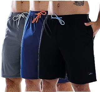 Kit 3 Bermudas Masculinas para academia com bolsos laterais