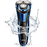 Rasierer Herren Elektrisch Rasierapparat mit LCD Display Trockenrasierer oder rasieren mit Schaum Präzisionstrimmer und Reiseverriegelung RS8336 von ELEHOT