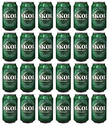 Bier Skol 24x33cl (Pack 24 Dosen)