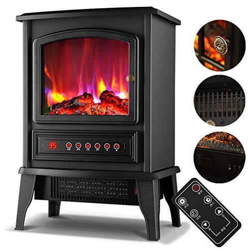 Calentador Eléctrico De Chimenea Estufa, Cocina Eléctrica