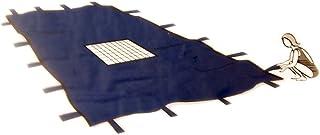 Afdekzeil, afdekzeil, 6 x 10 m, met afvoernet, afdekzeil, winterdekzeil, afdekzeil, afmetingen 6 x 10 m