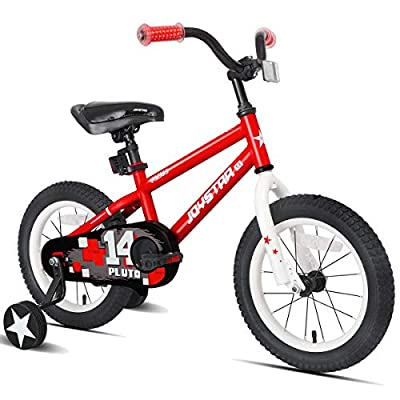 JOYSTAR 18 Inch Kids Bike for 5 6 7 8 9 Years Old Girls & Boys, Kids Bicycle with Kickstand, Red