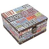 Holzkiste, dekorative Aufbewahrungsbox aus Holz, leicht, exquisite Buchstaben, Schmuck, Dokument zur...