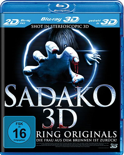 Sadako Ring Originals [3D Blu-ray inkl. 2D]