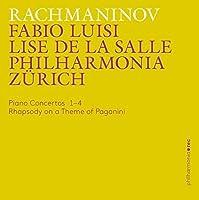 Piano Concertos 1-4 Rhapsody by SERGEI RACHMANINOV