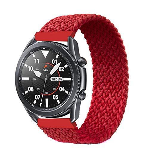 Sorteo Banda de Bucle Solitario Trenzada de 20 mm / 22 mm para Samsung Galaxy Watch 3 / 46mm / 42mm / Activo 2 / Engranaje S3 Braceletfor Huawei Watch GT / 2 / 2E / Pro Correa